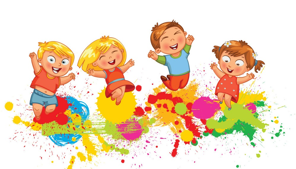 children-jump-for-joy-vector-18395699
