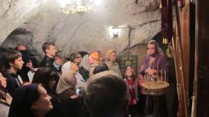 Сазанский пещерный монастырь Казанской Алексиево-Сергиевской пустыни